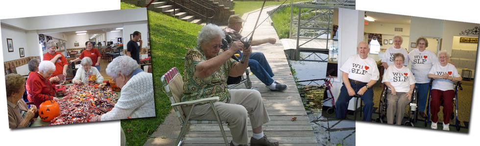 Residents enjoying our activities….